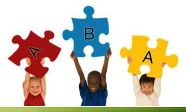 l'approche éducative ABA - Applied Behavior Analysis ou Analyse Appliquée du Comportement